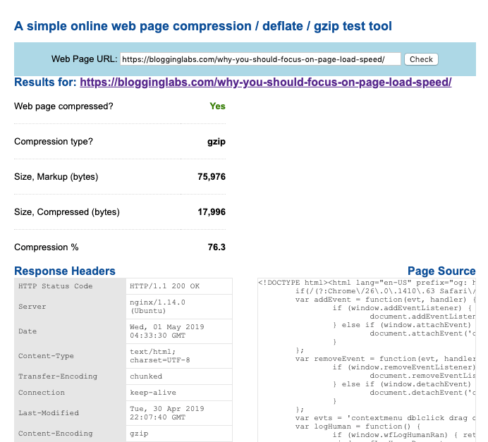 how to run a compression audit