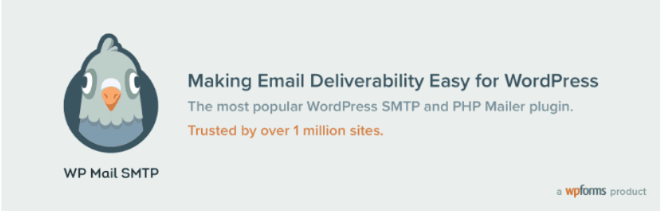 wp mail smtp by wpforms : best smtp plugin for wordpress