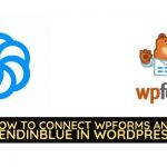 WPForms and Sendinblue in WordPress